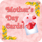 Mom is Best Cards Doodle Text! icon