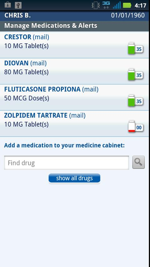 Express Scripts - screenshot