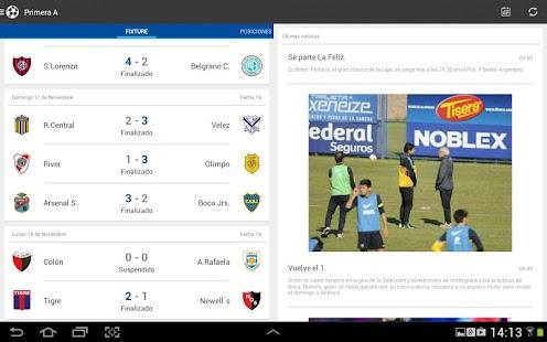 Liga Argentina de Fútbol Screenshot 10