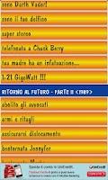 Screenshot of Voci Ritorno al Futuro