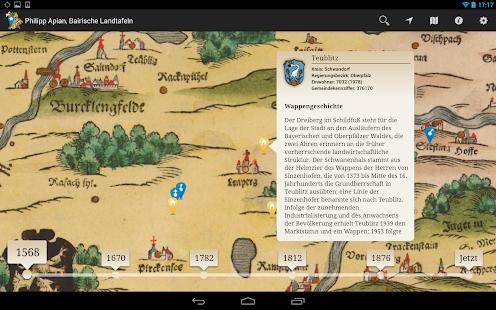 Bayern in historischen Karten- screenshot thumbnail