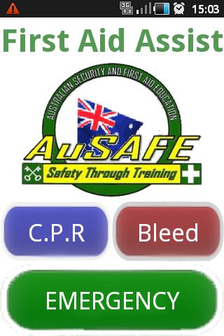 AuSAFE Emergency First Aid