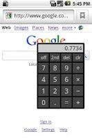 Screenshot of On Top Calculator