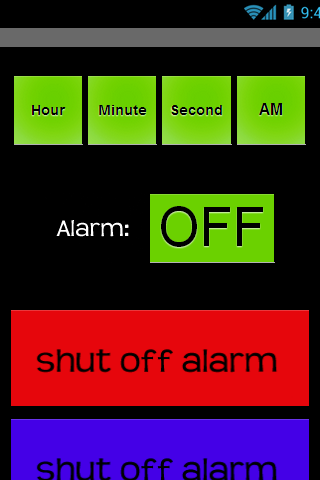 Wake Me Up Alarm Clock