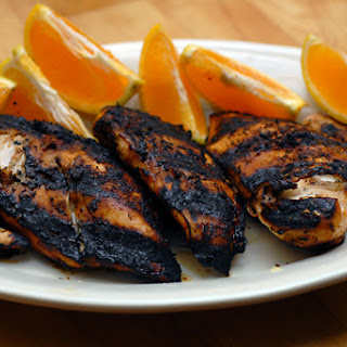 Grilled Chipotle Orange Chicken.