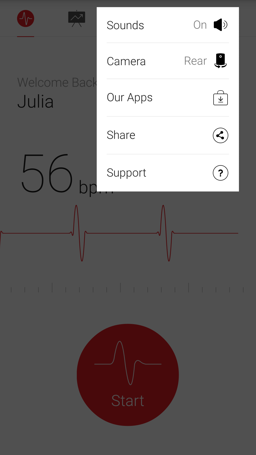 Cardiograph - Heart Rate Meter screenshot #5