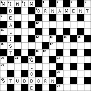 Art Type Crossword Clue #14