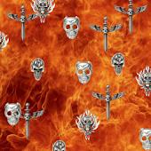 Skull Fire Live