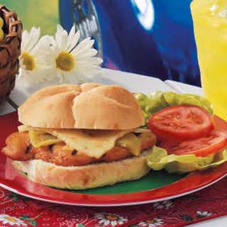Green Chili Chicken Sandwiches.