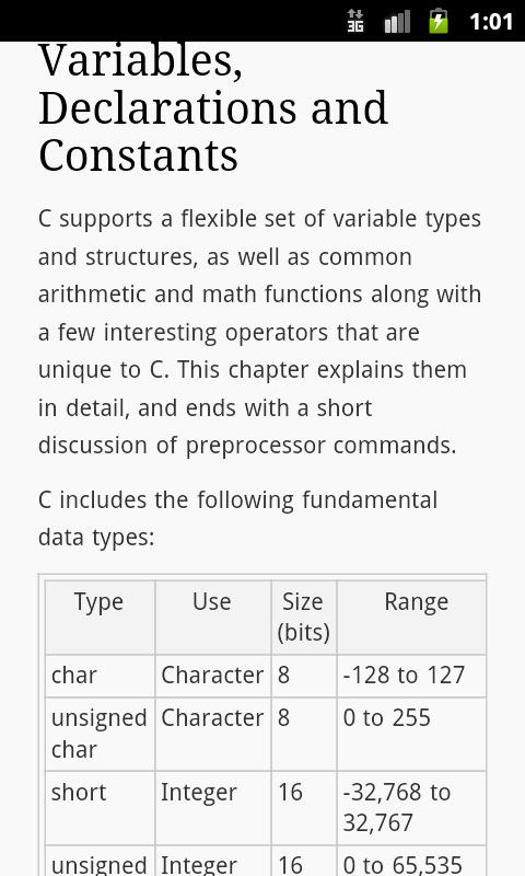 C Programming Primer - screenshot