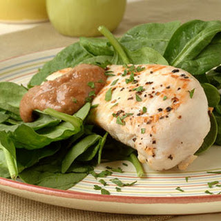 Sautéed Chicken Breasts with Creamy Walnut Sauce.