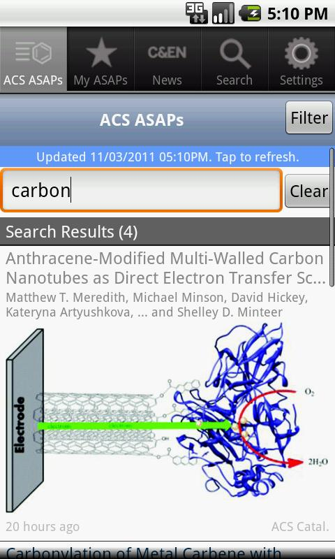 ACS Mobile- screenshot