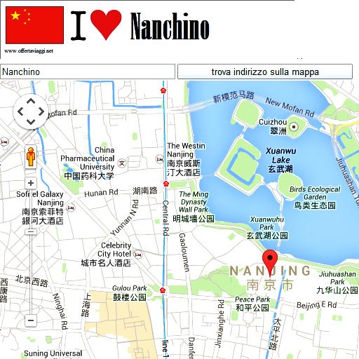 Nanjing maps