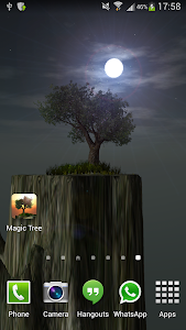 Magic Tree Live Wallpaper screenshot 9