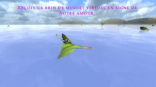 Brin de Muguet 3D Carte Postal