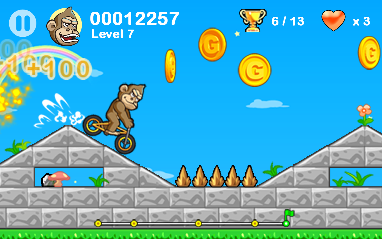 BMX Crazy Bike- screenshot