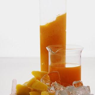 Carrot-Mango Smoothie.