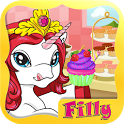 Filly® Cupcake Shop icon