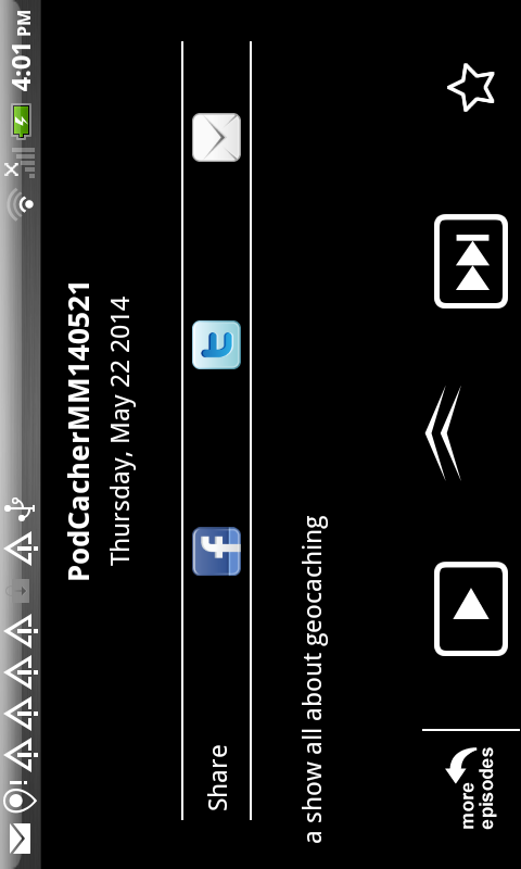 PodCacher: Geocaching Goodness - screenshot