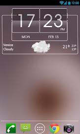 3D Flip Clock Theme Pack 06 Screenshot 2