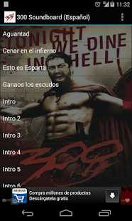 300 Soundboard (Español) - screenshot thumbnail