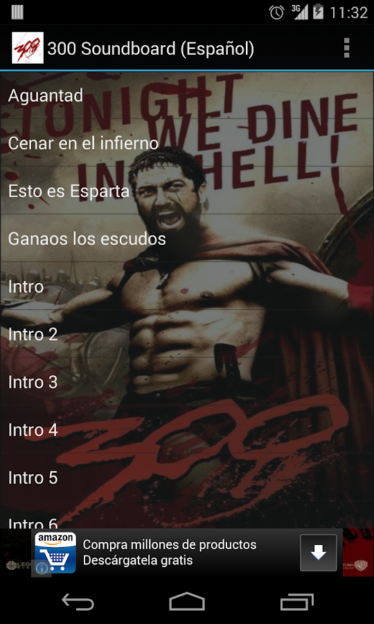 300 Soundboard (Español) - screenshot