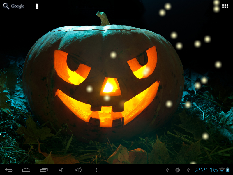 Halloween Night Live Wallpaper - screenshot