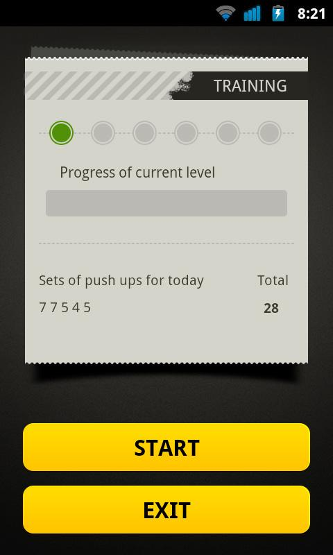 Push Ups Workout- screenshot