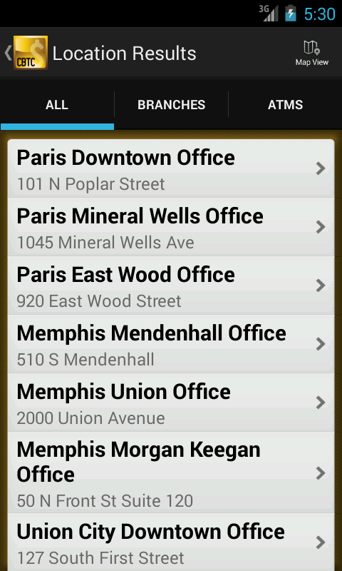 Commercial Bank Mobile Banking - screenshot