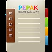Pepak Belajar Basa Jawa