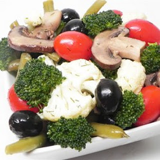 Marinated Vegetable and Olive Salad