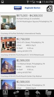 Philadelphia Real Estate- screenshot thumbnail