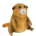 Talking friend. Life of cat 3d icon