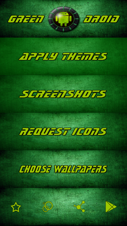 Green Droid IconPack- screenshot