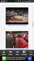 Screenshot of Michael Jordan Retirement