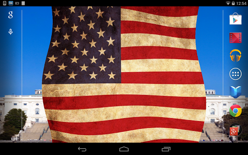 玩個人化App|American Flag Live Wallpaper免費|APP試玩