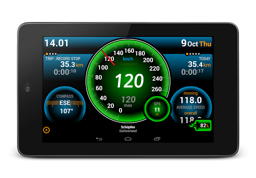 Ulysse Speedometer app (apk) free download for Android/PC/Windows screenshot