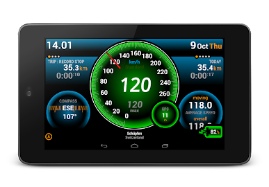 Ulysse Speedometer Screenshot 12