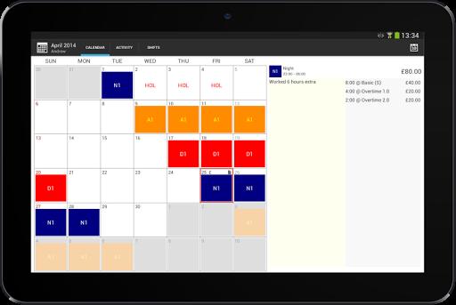 玩生活App|Shift Calendar Pro免費|APP試玩