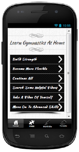 Learn Gymnastics At Home