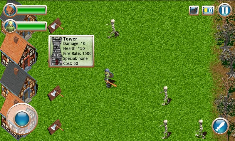 Action Defense - screenshot