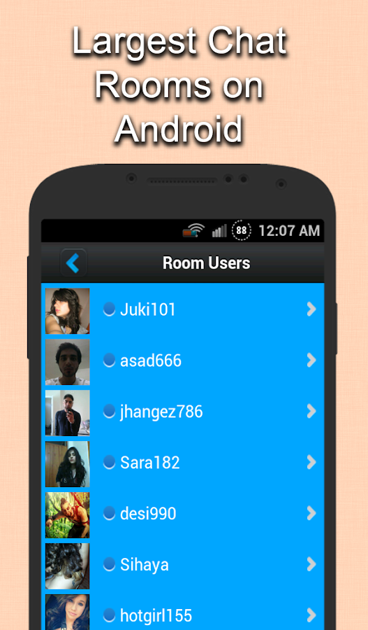 live chat rooms android apps on google play