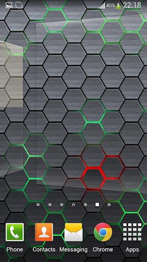 Honeycomb 2 LIve Wallpaper FR