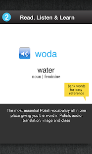 Learn Polish Free WordPower- screenshot thumbnail