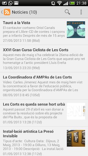 lesCorts.cc - Xarxa Ciutadana