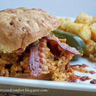 Bacon Cheeseburger Sloppy Joe