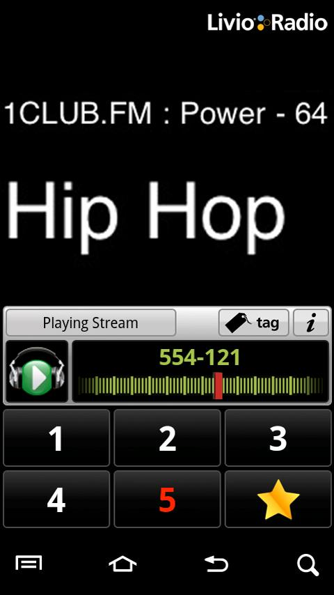 Livio Car Internet Radio Lite - screenshot