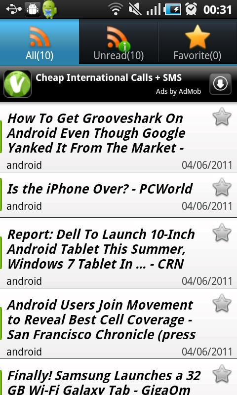 World Newspapers - screenshot