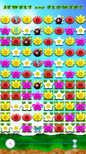 Jewels and Flowers Screenshot 1