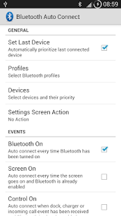 Bluetooth Auto Connect - screenshot thumbnail